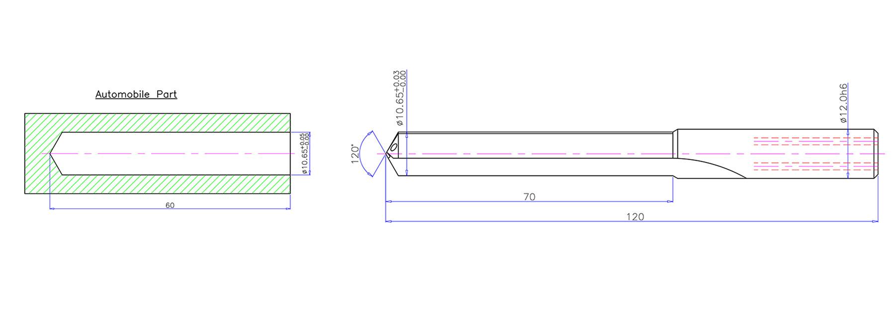 Carbide Drill Straight Flute