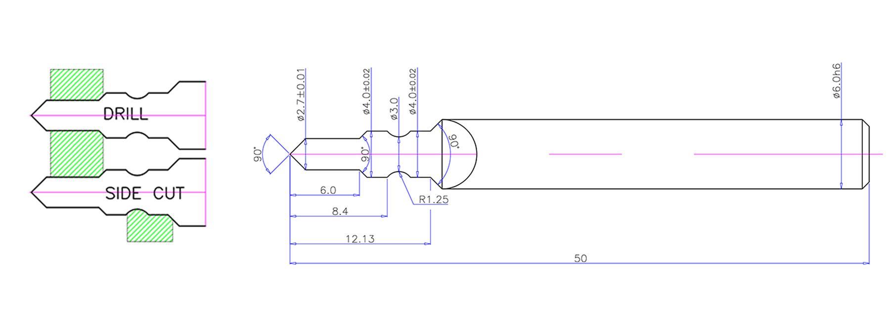 Carbide Lens Cutter