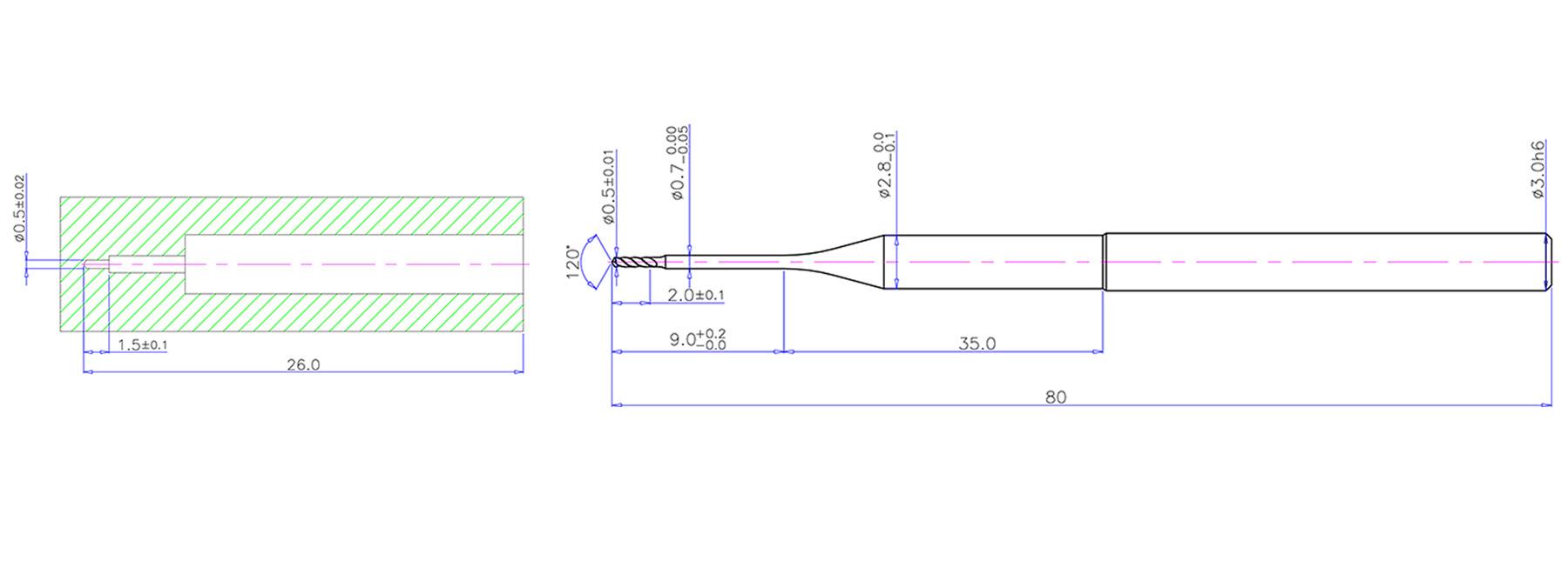 Micro Carbide Drill